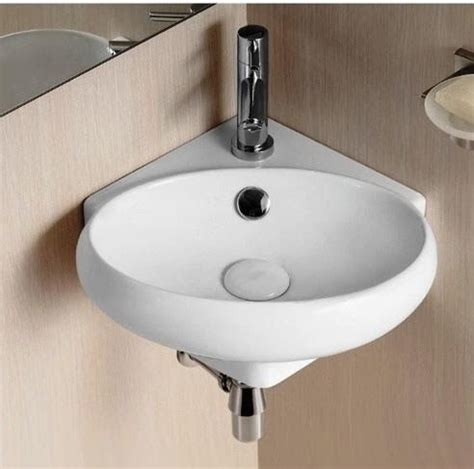 Small Corner Sinks For Small Bathrooms 12 Quot Corner Vanity For Small Bathroom Corner Bathroom
