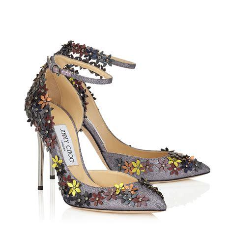 co dei fiori scarpe decollete jimmy choo con applicazioni floreali scarpe da