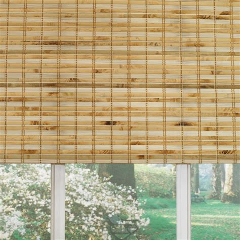 Bamboo Shades Shop Custom Size Now By Levolor 60 In L Bamboo