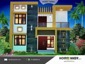 house design in contemporary style 1674 sqft economic house plan design