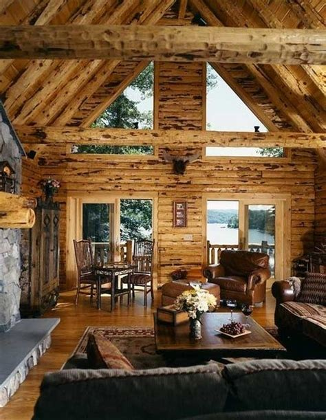 Lakeside Cabins by Lakeside Log Cabin Livin In A Cabin