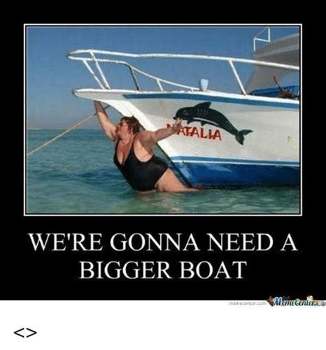boat meme 25 best memes about bigger boat bigger boat memes