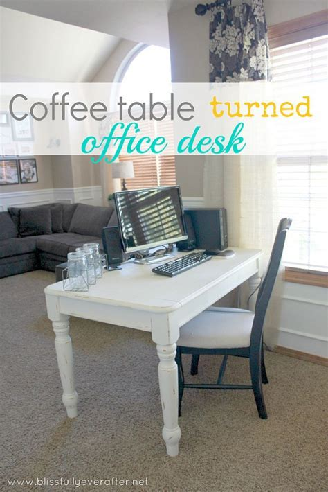 coffee table turns into desk coffee table turned office desk home office table and