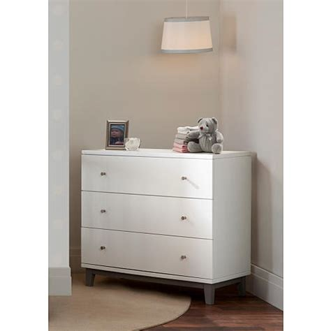 Small Three Drawer Dresser by How Cool Modern Small White Dresser For And