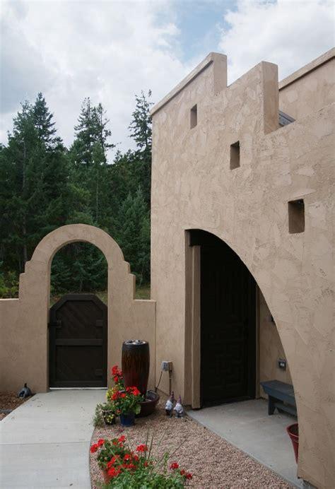 santa fe style house plan evstudio architect engineer santa fe style house in roxborough state park complete