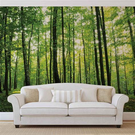 wall mural wallpaper wall mural photo wallpaper flowers forest nature 186ws ebay