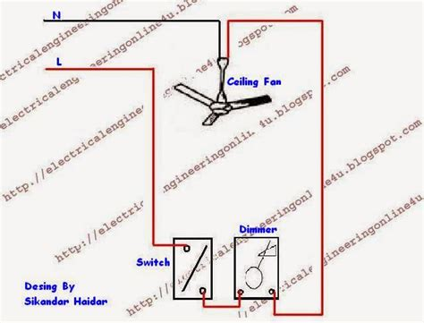 how to wire a dimmer switch diagram single pole dimmer