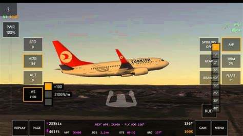 Air 2 Infinite infinite flight turkish boeing 737 700 takeoff