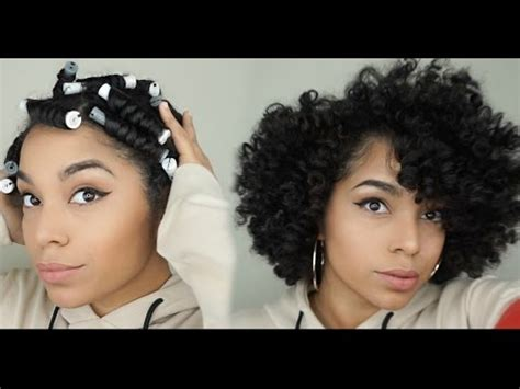 flexi rod vs perm rods how to cheat a bantu knot out using perm rods youtube