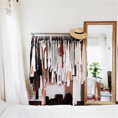 Declutter Wardrobe by Dreaming In Blush On Minimalism And Decluttering Closet