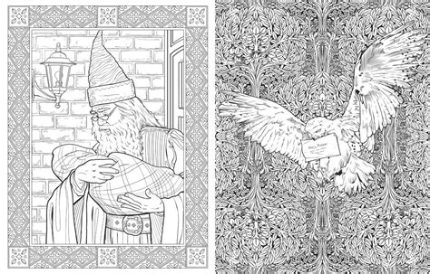 harry potter coloring book harry potter colouring book from studio press the bookseller