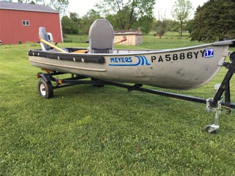 fishing boat and trailer 1981 aluminum fishing boat and trailer for sale in beaver