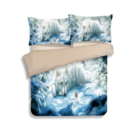 wolf print comforter set online get cheap wolf bedding sets queen aliexpress com