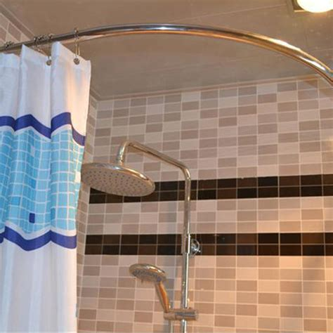 stainless steel shower curtain 304 stainless steel shower curtain rod curved shower