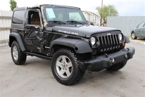wrecked jeep 2012 jeep wrangler 4wd rubicon wrecked damaged project