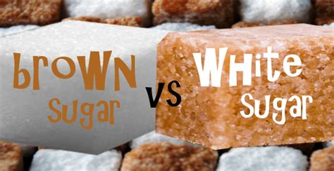 Brown Sugar Vs Light Brown Sugar by Brown Sugar Vs White Sugar Ts Fitness Wellness Guide