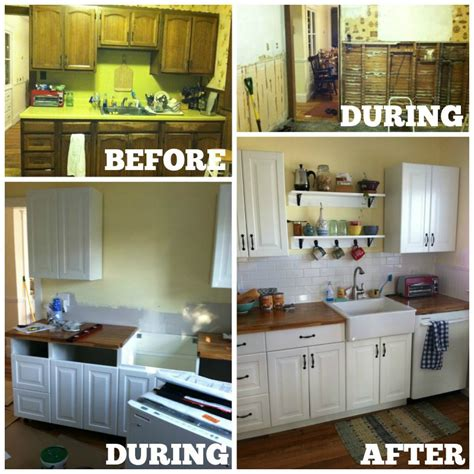 how to diy kitchen cabinets diy kitchen cabinets ikea vs home depot house and hammer