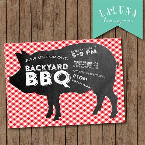 items similar to barbeque invitation barbecue invitation