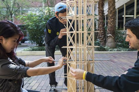 engineering competitions student design competition bruin engineering students aim to build earthquake proof