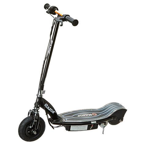 motorized scooter canadian tire razor e100 glow electric scooter black ebay