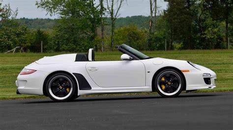 porsche speedster 2011 2011 porsche 911 speedster 3 8 408 hp 309 lot