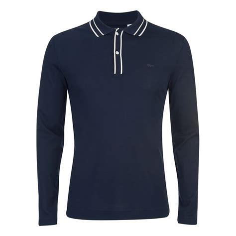 Polo Shirt 9 Inches Raglan Original Navy lacoste s sleeve ribbed collar polo shirt navy