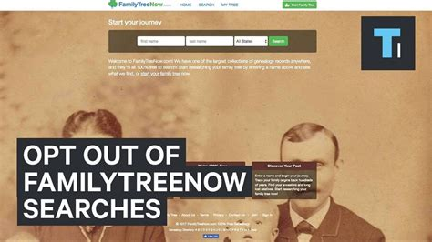 Finders Opt Out What Is Familytreenow How To Opt Out From Familytreenow Genelogy