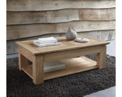 Table Basse Chene Massif 211 by Table Basse De Salon Meuble House