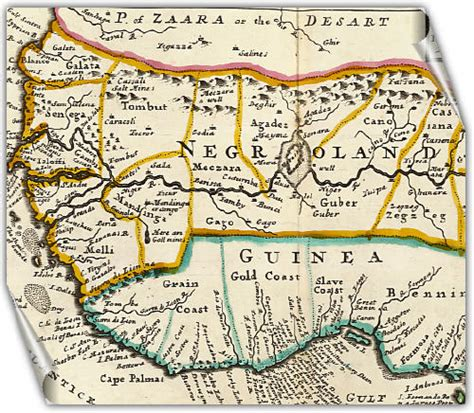 africa map 1747 negroland and guinea negroland and guinea herman moll