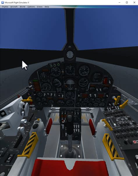 Flight Simulator in Virtual Reality with Flyinside FSX ... X 15 Cockpit