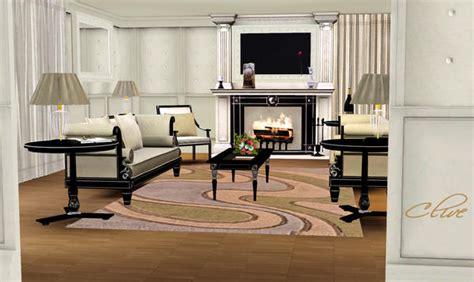 Sims 3 Living Room Sets Shinokcr S Clive Livingroom