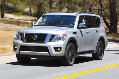 armada car redesigned 2017 nissan armada named the suv of by
