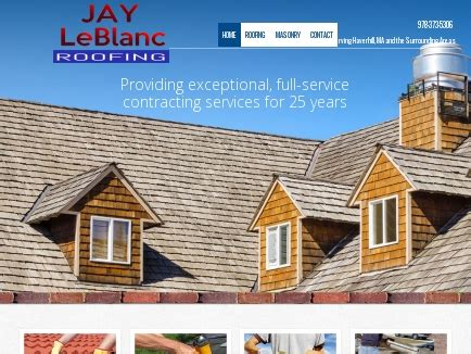 roofing haverhill leblanc roofing co contractor haverhill ma