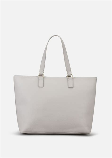 Bag Selempang Emporio Armani 3743 shopping bag in faux nappa for emporio armani