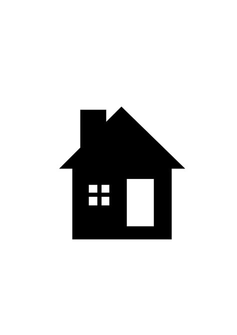 Black And White Home Small House Clipart Black And White Clipartsgram Com