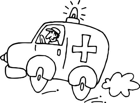 ambulance coloring pages fastest ambulance coloring page wecoloringpage
