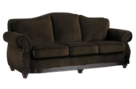 brown chenille sofa homelegance midwood sofa chocolate chenille 9616cn 3 at