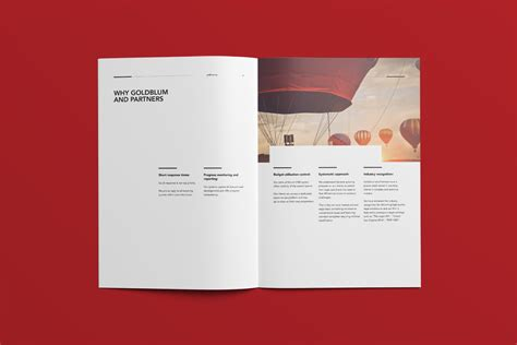 design firm company profile goldblum company profile on behance