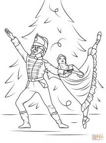 Nutcracker Ballet Coloring Pages nutcracker ballet coloring page free printable coloring