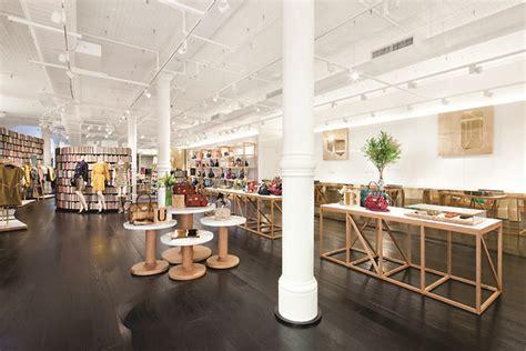 mulberry boutique by universal design studios new york 187 retail design blog