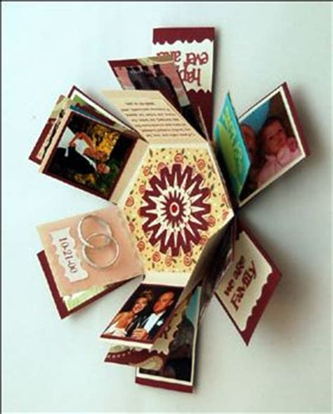 explosion box gift tutorial 39 best images about exploding box tutorial on pinterest