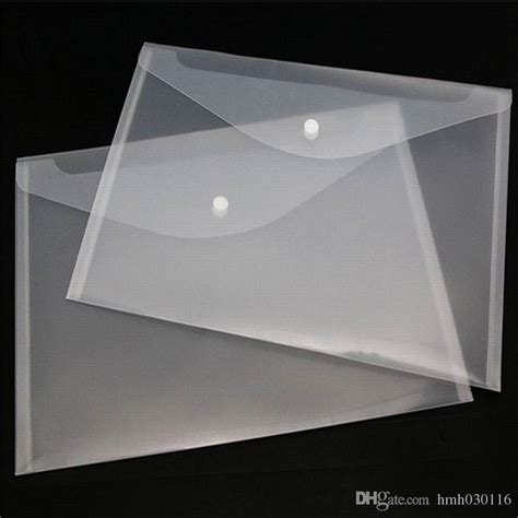 Transparent A4 Folder best a4 paper transparent plastic folder documents bag