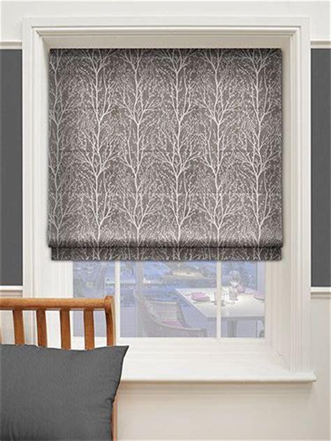 sissinghurst dark grey roman blind  blinds