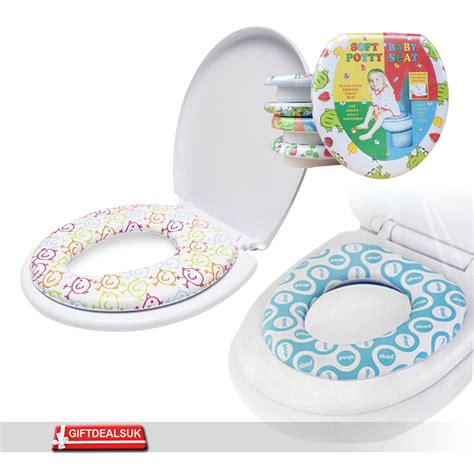toddler toilet seat baby toddler safety soft padded toilet trainer child