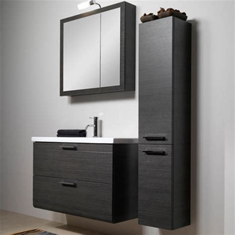 l16 wall mounted single sink bathroom vanity set