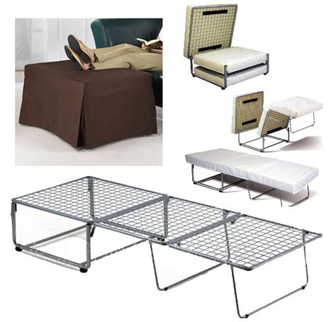 double fold out ottoman bed fold out ottoman bed