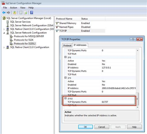 sql port sql server find port sql server is listening port sql