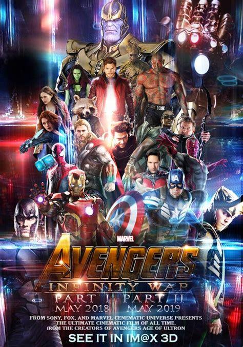 film streaming marvel avengers fan made avengers infinity war 2018 2019 poster