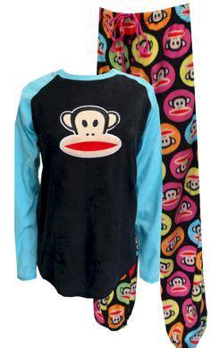 Pajamas Paul Frank Moustache monkey footie pajamas with banana cape blanket for c cs