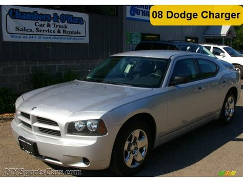 2008 silver dodge charger 2008 dodge charger se in bright silver metallic 260631